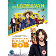 Produktbilde for The Lady In The Van/A Street Cat Named Bob (UK-import) (DVD)