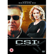 CSI - Crime Scene Investigation - Sesong 3 (UK-import) (DVD)