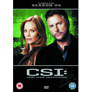CSI - Crime Scene Investigation - Sesong 4 (UK-import) (DVD)
