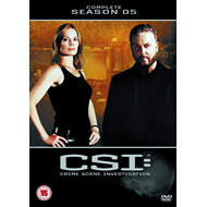 CSI - Crime Scene Investigation - Sesong 5 (UK-import) (DVD)