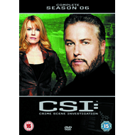 Produktbilde for CSI - Crime Scene Investigation - Sesong 6 (UK-import) (DVD)