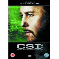 Produktbilde for CSI - Crime Scene Investigation - Sesong 8 (UK-import) (DVD)
