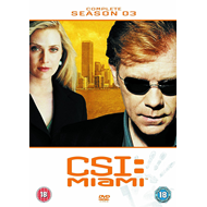 CSI Miami - Sesong 3 (UK-import) (DVD)