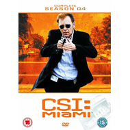 CSI Miami - Sesong 4 (UK-import) (DVD)