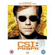 CSI Miami - Sesong 5 (UK-import) (DVD)