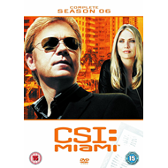 CSI Miami - Sesong 6 (UK-import) (DVD)