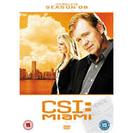 CSI Miami - Sesong 8 (UK-import) (DVD)