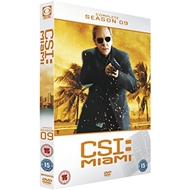CSI Miami - Sesong 9 (UK-import) (DVD)