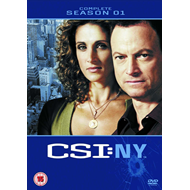 CSI New York - Sesong 1 (UK-import) (DVD)