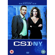 CSI New York - Sesong 2 (UK-import) (DVD)