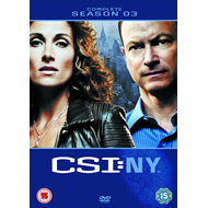 CSI New York - Sesong 3 (UK-import) (DVD)