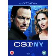 CSI New York - Sesong 4 (UK-import) (DVD)