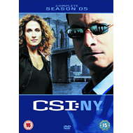 CSI New York - Sesong 5 (UK-import) (DVD)