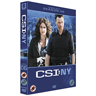 CSI New York - Sesong 6 (UK-import) (DVD)