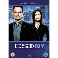CSI New York - Sesong 8 (UK-import) (DVD)