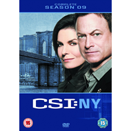 CSI New York - Sesong 9 (UK-import) (DVD)