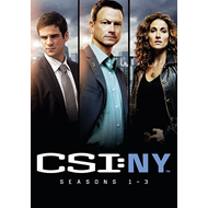 CSI New York - Sesong 1-3 (UK-import) (DVD)