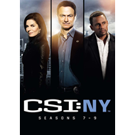 CSI New York - Sesong 7-9 (UK-import) (DVD)
