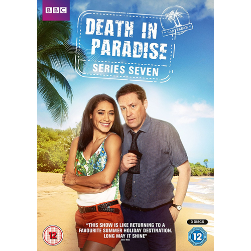 Death In Paradise / Mord I Paradis - Sesong 7 (UK-import) (DVD)