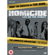 Produktbilde for Homicide - Life On The Street: The Complete Collection (UK-import) (DVD)