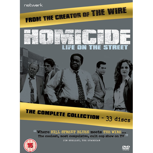 Homicide - Life On The Street: The Complete Collection (UK-import) (DVD)