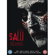 Produktbilde for Saw: The Legacy Collection (UK-import) (DVD)