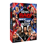 WWE: The Best Of Raw And Smackdown 2017 (UK-import) (DVD)