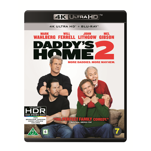 Daddy's Home 2 (DK-import) (4K Ultra HD + Blu-ray)
