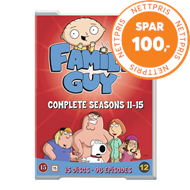 Produktbilde for Family Guy - Sesong 11-15 (DVD)