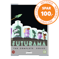 Produktbilde for Futurama - The Complete Series 1-8 (DK-import) (DVD)