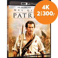 Produktbilde for The Patriot (4K Ultra HD + Blu-ray)
