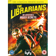 The Librarians - Sesong 4 (UK-import) (DVD)
