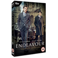 Endeavour - Sesong 5 (UK-import) (DVD)