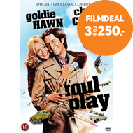 Produktbilde for Foul Play (DK-import) (DVD)