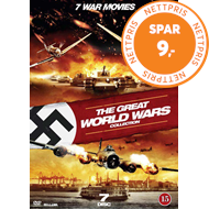 Produktbilde for The Great World Wars Collection (DK-import) (DVD)