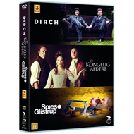 Guldboxen - Dirch / En Kongelig Affære / Spies And Glistrup (DVD)