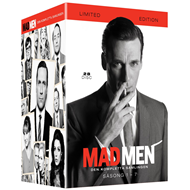 Mad Men - Sesong 1-7: Complete Collection (DVD)