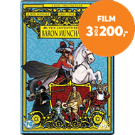 The Adventures Of Baron Munchausen (DK-import) (DVD)