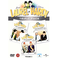 Laurel  And  Hardy Triple Pack (DVD)