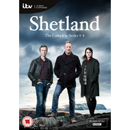 Shetland - Sesong 1-4 (UK-import) (DVD)