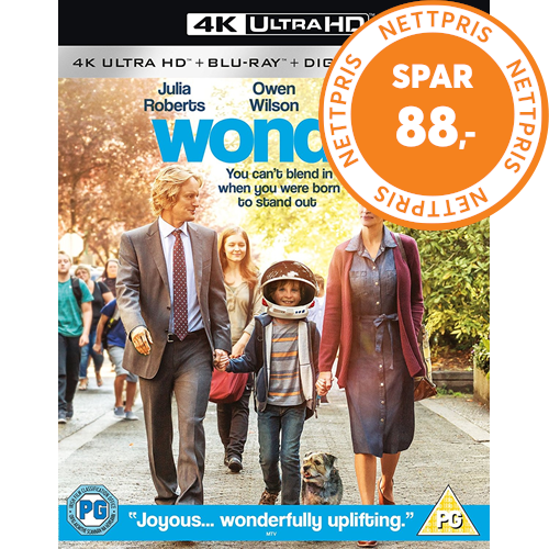 Wonder / Mirakel (UK-import) (4K Ultra HD + Blu-ray)