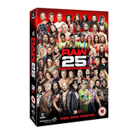 WWE: Raw - 25th Anniversary (UK-import) (DVD)