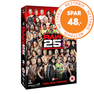 Produktbilde for WWE: Raw - 25th Anniversary (UK-import) (DVD)