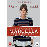 Marcella - Sesong 1-2 (UK-import) (DVD)