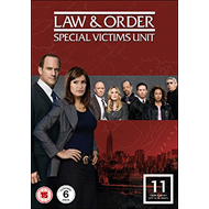 Law & Order: Special Victims Unit - Sesong 11 (UK-import) (DVD)