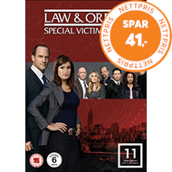 Produktbilde for Law & Order: Special Victims Unit - Sesong 11 (UK-import) (DVD)