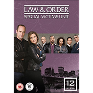 Law & Order: Special Victims Unit - Sesong 12 (UK-import) (DVD)