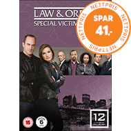 Produktbilde for Law & Order: Special Victims Unit - Sesong 12 (UK-import) (DVD)