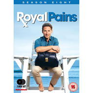 Royal Pains - Sesong 8 (UK-import) (DVD)