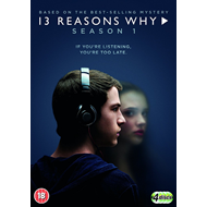 13 Reasons Why - Sesong 1 (UK-import) (DVD)